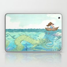 The Lake of Lurking Monsters Laptop & iPad Skin