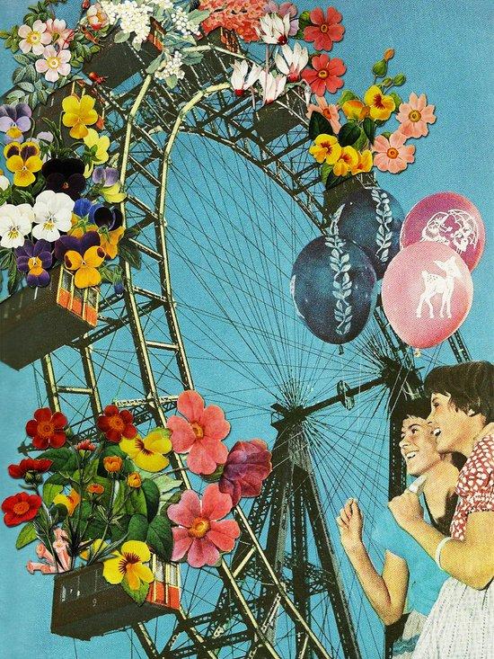 Bloomed Joyride Too Art Print
