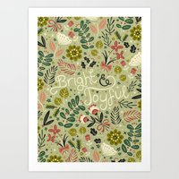 Bright & Joyful Art Print