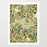 Bright & Joyful Art Print