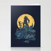 The Dragon Slayer Stationery Cards