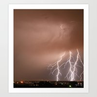 Electrified Art Print