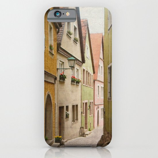 Italian Alley - Bright Colors iPhone & iPod Case