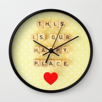 This Is Our Happy Place … Wall Clock