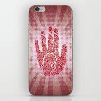 Kim's Mehndi  iPhone & iPod Skin