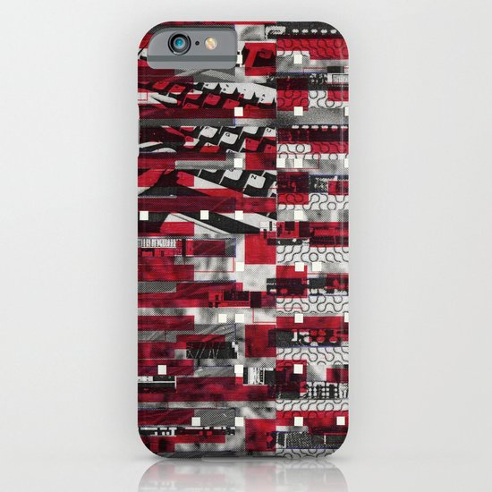 Nothing Is Accomplished (P/D3 Glitch Collage Studies) iPhone & iPod Case