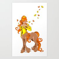 Female Centaur Art Print