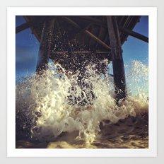 Newport  Splash Art Print