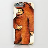 iPhone & iPod Case featuring Oso pico tibio by Juan Weiss