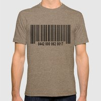 Barcode 1 Mens Fitted Tee Tri-Coffee SMALL