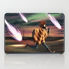 Air Raid in the Battlefield iPad Case