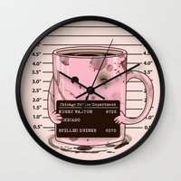 Mugshot Wall Clock