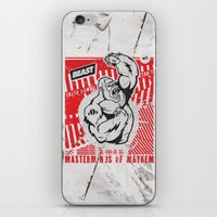 Mayhem Ape (Black On Red… iPhone & iPod Skin