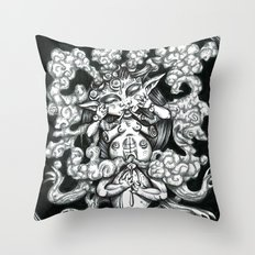 Phantom Throw Pillow
