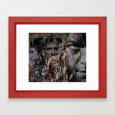Super Gravità Framed Art Print