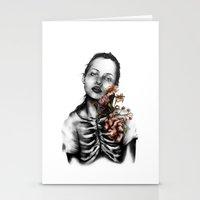 Heartbeats // Illustration Stationery Cards