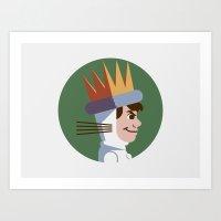 Headgear: Max Art Print