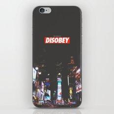 we need to DISOBEY iPhone & iPod Skin