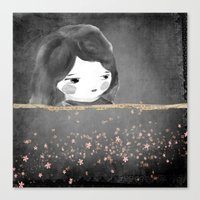 Bed star Canvas Print