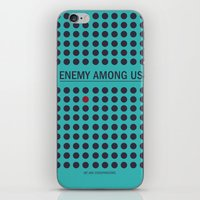 Enemy Among Us II iPhone & iPod Skin