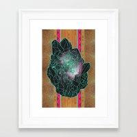 Crystal 1 Revisioned Framed Art Print