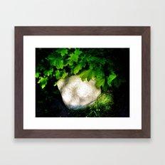 Glow In Nature Framed Art Print