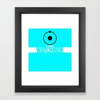 Watchmen 2.0 - Dr. Manhattan Framed Art Print