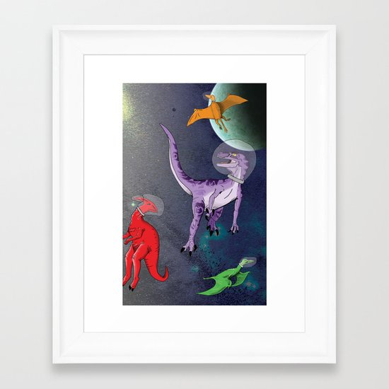 Extinction: The Final Frontier Framed Art Print