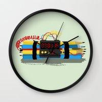 Even ideas bomb Wall Clock