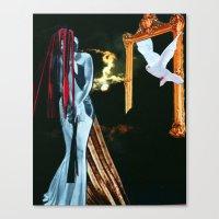SHOTGUN WEDDING Canvas Print
