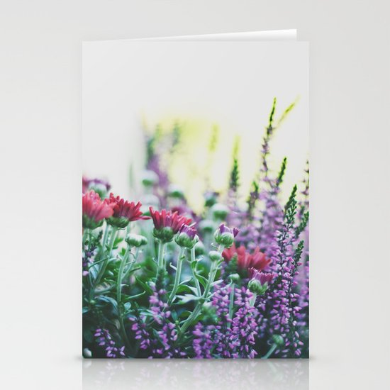FANTASY COLORS Stationery Card