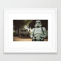 A little R&R Framed Art Print