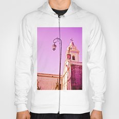 Experiencing pink and fuchsia. Hoody