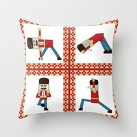 Nutcracker Zen Throw Pillow