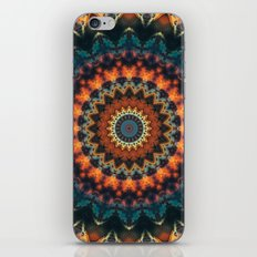 Fundamental Spiral Mandala iPhone & iPod Skin