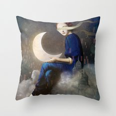 Kingdom Of Clouds Throw Pillow