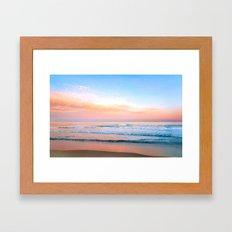 Pastel Ocean Framed Art Print