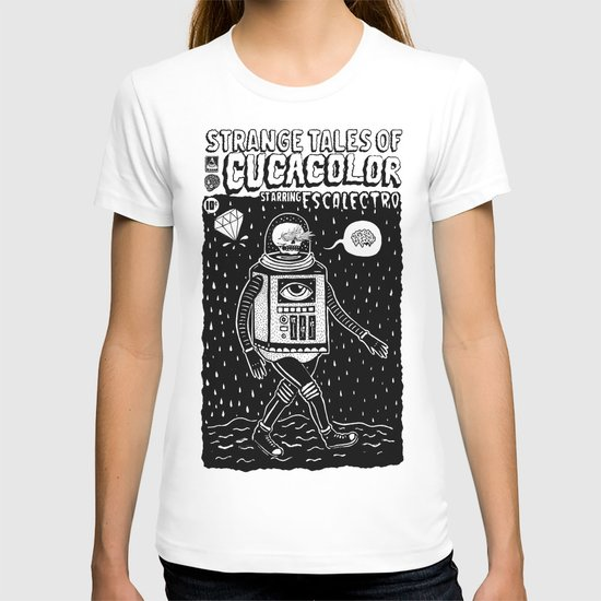 strange tales of cucacolor T-shirt