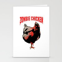 All Fear The Zombie Chic… Stationery Cards