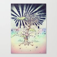 Magic Beans Canvas Print
