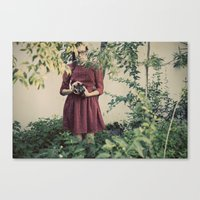 First Camera Canvas Print