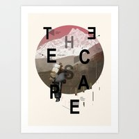 THE ESCAPE Art Print