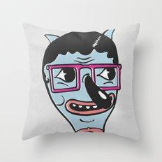 ohai! print Throw Pillow