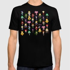 Fighting Evil by MOONLIGHT Mens Fitted Tee Black SMALL