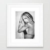 Nude Girl 7 Framed Art Print
