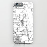 iPhone & iPod Case featuring Little Cat's Journey by rociel