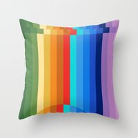 Waterfall Frustration Throw Pillow