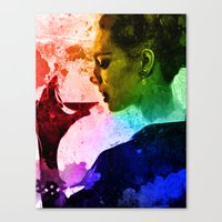 The Connoisseur Canvas Print