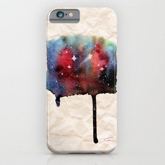 Little Nebula Watercolor iPhone & iPod Case