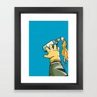 Molotov Framed Art Print